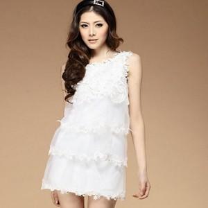 【白色连衣裙搭配】白色连衣裙搭配图片