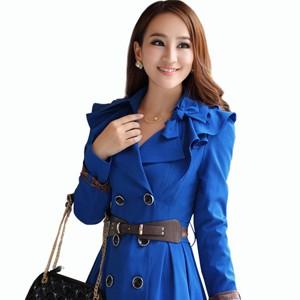 【女式风衣】2014新款女式风衣及女式风衣外套图片_伊