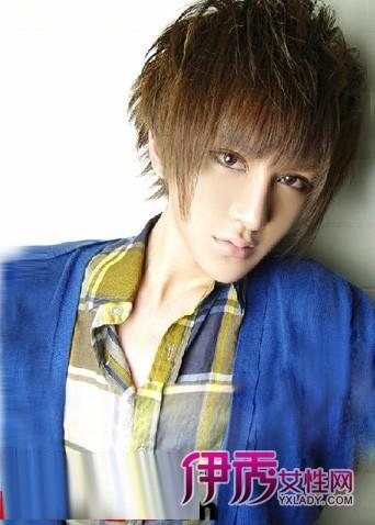 男生烫发发型名字及8款阳光帅气男生发型图片