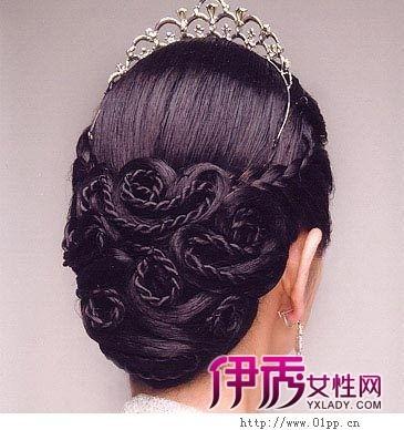 2012夏季6款韩国最流行新娘盘发发型