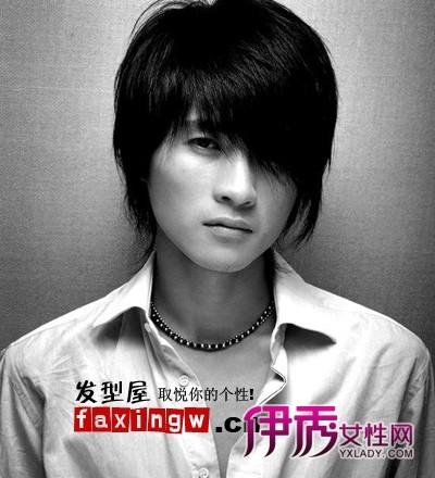 男刘海发型图片 最流行男生刘海发型图片