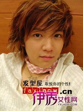 韩国男生中长发发型图片图片