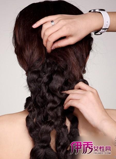 韩式新娘发型教程 图解编发盘发过程