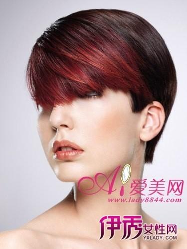 最新沙宣短发发型设计