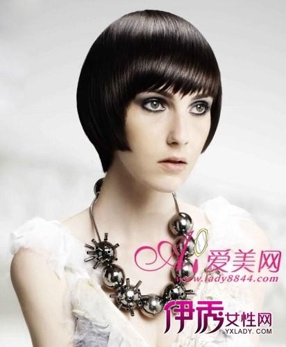 精致个性 最新沙宣短发发型设计_可爱的小多度的博客