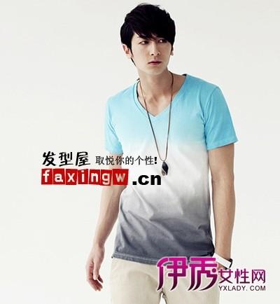 最新韩式男生发型名称和图片图片