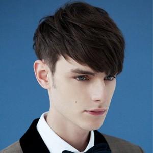 2014流行男生发型 个性短发最时尚图片