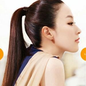 【马尾发型】韩式中长直发马尾发型扎法及简单马尾扎图片