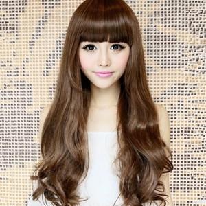 【齐刘海图片】齐刘海怎么弄好看及齐刘海卷发发型