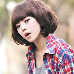 【短发卷发发型图片】女人短发最新卷发发型及短发大