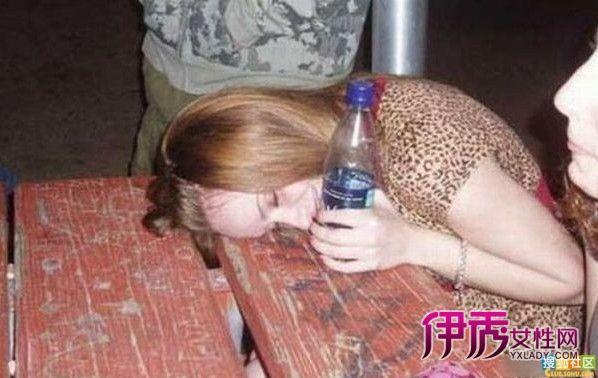 便宜了男人的全球美女醉酒